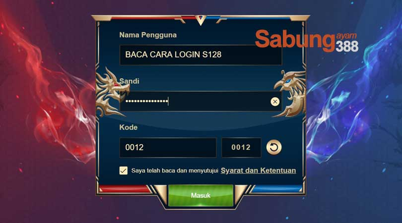 tutorial login s128
